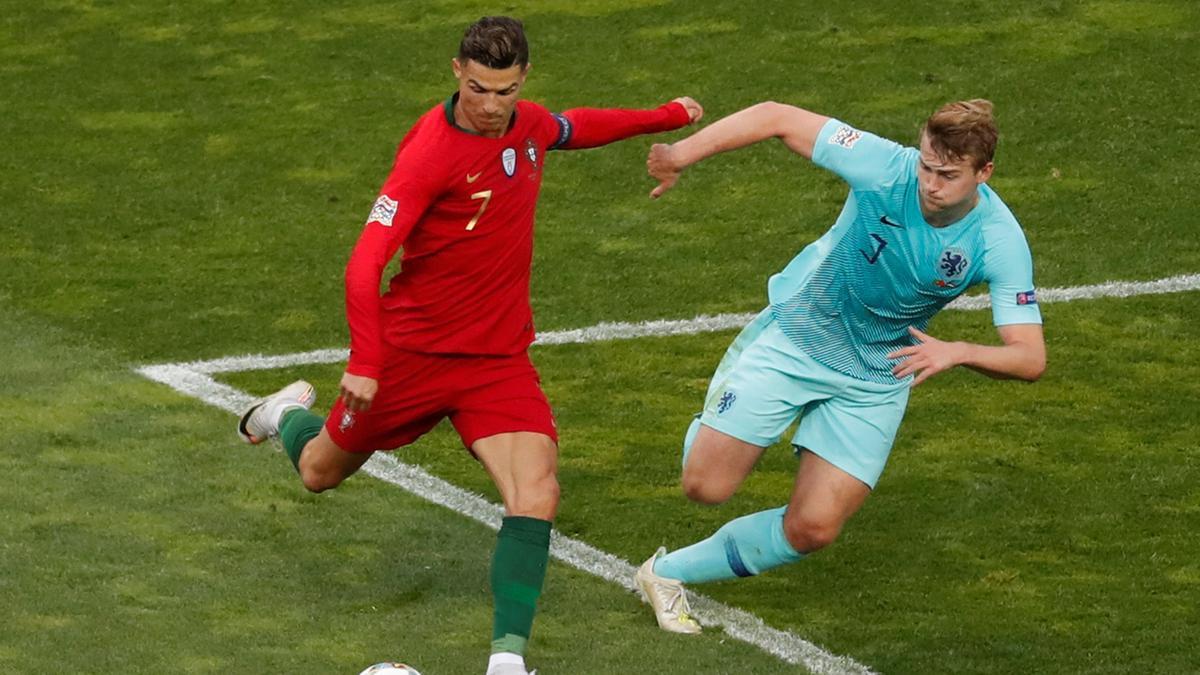 Cristiano Ronaldo, de ligt