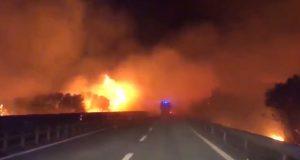 Incendio Siniscola