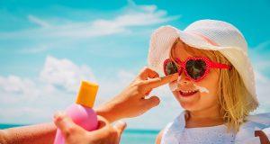 la protezione solare